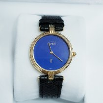 Cartier pre-owned Quartz 30mm Gold Sapphire crystal