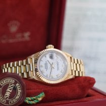Rolex Lady-Datejust Yellow gold 26mm White No numerals Singapore