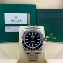 Rolex 114060 Steel 2018 Submariner (No Date) 40mm pre-owned