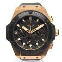 Hublot King Power Oro rosa 48mm Negro Sin cifras España, Marbella