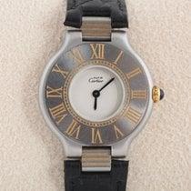 Cartier 21 Must de Cartier Gold/Steel 28mm White Arabic numerals
