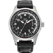 IWC Pilot Worldtimer nuevo 2018 Automático Reloj con estuche y documentos originales IW326201
