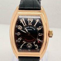 Franck Muller Conquistador Oro rosa 35mm Negro