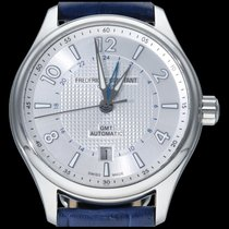 Frederique Constant Runabout Steel 42mm Silver Arabic numerals