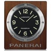 Panerai Luminor 1950 8 Days GMT Aluminium 290mm Zwart Arabisch