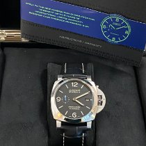 Panerai Luminor Marina 1950 3 Days Automatic Acero 44mm Negro Arábigos