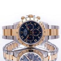 Rolex Daytona Gold/Steel 40mm Blue Arabic numerals United Kingdom, Essex