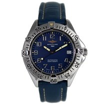 Breitling A17035 Stahl 1992 Colt Automatic 38mm gebraucht
