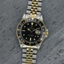 Rolex 16753 Or/Acier 1987 GMT-Master 40mm occasion France, PARIS - UNIQUEMENT SUR RDV