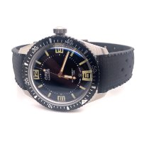Oris Divers Sixty Five Steel 40mm Black Arabic numerals