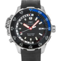 IWC Aquatimer Deep Two Сталь 46mm Черный Без цифр