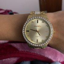 Elgin Reloj de dama Cuerda manual usados Reloj con estuche original