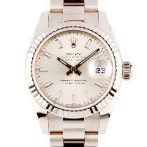 Rolex 179179 Or blanc 2020 Lady-Datejust 26mm nouveau