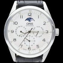 Oris Artelier Complication Steel 40mm Silver Arabic numerals