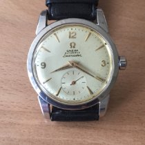 Omega Seamaster Steel 34mm Gold Arabic numerals
