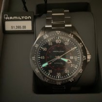 Hamilton Steel 44mm Automatic H76755135 new United States of America, Texas, SAN ANTONIO