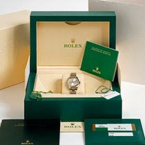 Rolex Oyster Perpetual 26 Steel 26mm Silver Arabic numerals United Kingdom, Kent