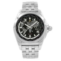 Breitling Galactic Unitime Steel 44mm Black United States of America, New York, NYC
