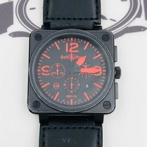 Bell & Ross BR 01-94 Chronographe 46mm Black United States of America, New York, NYC