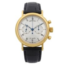Breguet Classique Yellow gold 38mm Silver Roman numerals United States of America, New York, NYC