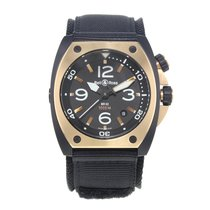 Bell & Ross BR 02 Gold/Steel 44mm Black United States of America, New York, NYC