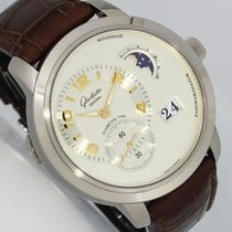 Glashütte Original PanoMaticLunar XL White gold 42mm Silver Arabic numerals