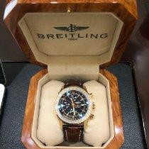 Breitling Pозовое золото Автоподзавод 46mm новые Navitimer World