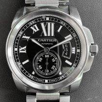 Cartier Calibre de Cartier Steel 42mm Black Roman numerals United States of America, Florida, Aventura