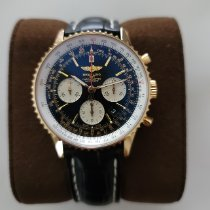Breitling Red gold Automatic Black No numerals 43mm new