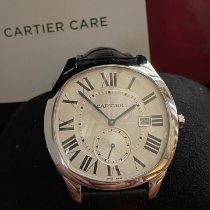 Cartier Drive de Cartier подержанные 40mm Cеребро Дата Кожа аллигатора