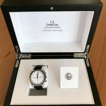 Omega Speedmaster Professional Moonwatch Steel 42mm White No numerals