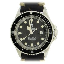 Tudor Submariner Steel 33mm Black No numerals United States of America, New York, New York