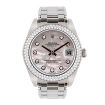 Rolex Pearlmaster White gold 34mm Mother of pearl United Kingdom, Macclesfield