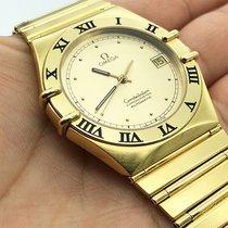 Omega Constellation Yellow gold 35.5mm Gold No numerals UAE, Abu Dhabi