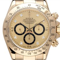 Rolex Daytona Or jaune 40mm Champagne Arabes