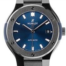 Hublot Classic Fusion 45, 42, 38, 33 mm Keramik 38mm Blau