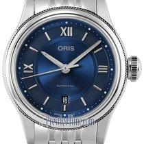 Oris Classic Steel 28.5mm Blue United States of America, New York, Airmont