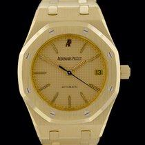 Audemars Piguet Royal Oak Oro amarillo 36mm Champán Sin cifras