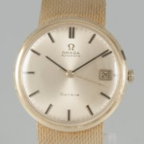 Omega Genève Yellow gold 34mm No numerals