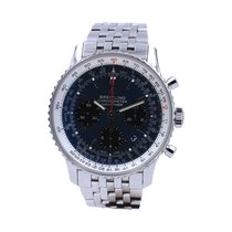 Breitling Navitimer 1 B01 Chronograph 43 pre-owned 43mm Blue Chronograph Date Steel