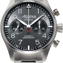 Alpina Startimer Pilot Automatic nuevo 2019 Automático Cronógrafo Reloj con estuche y documentos originales al-860gb4s6b