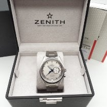 Zenith Steel Automatic Silver 42mm pre-owned El Primero