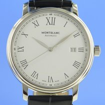 Montblanc 7334 Steel 2015 Tradition 40mm pre-owned