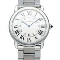 Cartier Ronde Solo de Cartier Steel 36mm White United States of America, New York, New York