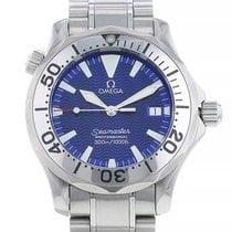Omega Seamaster Diver 300 M Acier 36mm Bleu Sans chiffres France, Paris