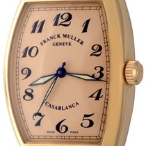Franck Muller Casablanca Pозовое золото 30mm Aрабские