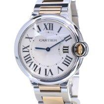 Cartier Acier Quartz Blanc Romains 36mm occasion Ballon Bleu 36mm