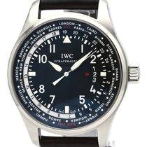 IWC Pilot Worldtimer Acero 45mm Negro