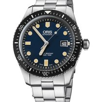 Oris 01 733 7720 4055-07 8 21 18 Steel Divers Sixty Five new United States of America, New York, Brooklyn