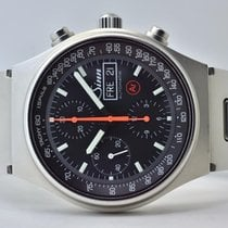 Sinn 144 Steel 41mm Black No numerals